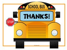 """Print this quick and easy letter template for your young writers to say """"thank you"""" to their favorite bus drivers during Bus Driver Appreciation or just because! Bus Driver Appreciation, Appreciation Letter, Staff Appreciation Gifts, Bus Driver Gifts, School Bus Driver, School Buses, School Staff, School Bus Crafts, School Projects"""