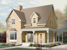 New American House Plan with 1502 Square Feet and 3 Bedrooms from Dream Home Source | House Plan Code DHSW65112