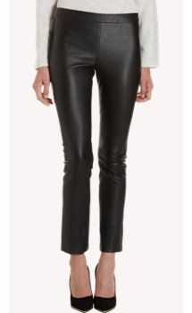 All I want for fall is ... the Vince Cropped Leather Legging.