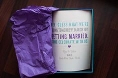 Surprise wedding i love everything about this down the road surprise wedding announcement photo by photographybyashleyvictoria junglespirit Image collections