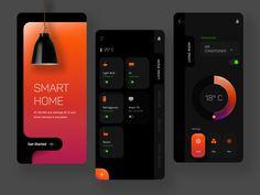 Day 27 of 100 - Smart Home App Concept by Karan Menon
