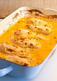 Kycklingfilé med sambal oelek