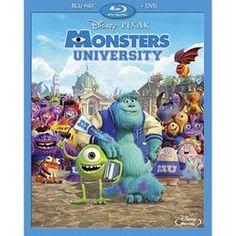 Tristan-Monsters University (Blu-ray & DVD) at Target Black Friday