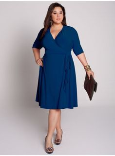 An exclusive designer for big girls!  This dress makes me feel flirty and fun!