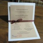 Homemade wedding invitations Archives | The Wedding Specialists