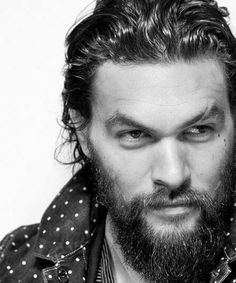 Jason Momoa: He literally takes my breath away. Jason Momoa Aquaman, Moustaches, Gorgeous Men, Beautiful People, Simply Beautiful, Beautiful Things, Black Dagger Brotherhood, My Sun And Stars, Khal Drogo