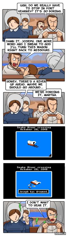 This could be the true story behind my Oregon Trail days