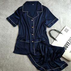 Lisacmvpnel Summer New Breathable Soft Women Pajamas Rayon Short Style Casual Female Pajama set Twinset Women Sleepwear