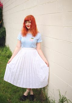 The Pineneedle Collective: Cherries, Gingham and a DIY T-Shirt (and a new video! - Get Sewing With Me #3)