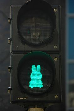 miffy traffic light, so cute!