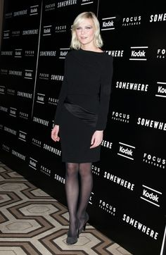 Elle Fanning and Sofia Coppola at the Somewhere premiere