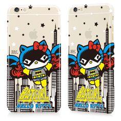 Hello Kitty iPhone 6 Plus case #BatGirl o(`ω´ )o