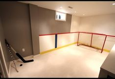 Home Hockey Rink & Entertainment Space | Photos | HGTV Canada Garage Gym, Basement House, Basement Apartment, Hockey Bedroom, Home Bar Accessories, Basement Remodeling, Remodeling Ideas, New Room, Air Max