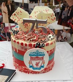 You'll Never Walk Alone, Liverpool Football Club, Walking Alone, Birthday Cake, Cakes, Desserts, Food, Tailgate Desserts, Deserts