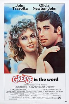 John Travolta and Olivia Newton-John in Grease Olivia Newton John Movies, Olivia Newton John Grease, John Travolta, Grease Musical, Grease Movie, Stockard Channing, Classic Movie Posters, Classic Movies, West Palm Beach