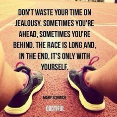 So true. I tend to forget this and get down on myself when I can't be at someone else's level. But I need to remember that we all start from the same start line :-)