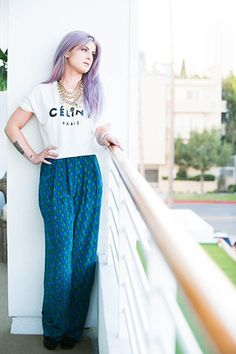 We can't stop talking about Kelly Osbourne's crazy-awesome closet (photo by @The Coveteur)