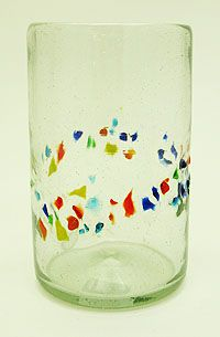 We have the Amici line of these glasses and the pitcher. They go perfectly with Fiestaware!