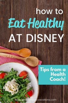 If you are worried about maintaining a healthy diet while on vacation to Disneyland, Disney World, or really any place your family vacations, this is the post for you. Click for actionable tips from a certified health coach on how you can make healthy eating choices while on vacation. Disney World App, Disney World Vacation Planning, Disneyland Vacation, Health And Wellness Coach, Health Coach, Disneyland Dining, Disney Tips, Walt Disney, Magic Vacations