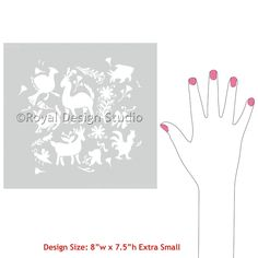 Animal Stencils and Mexican Design for Craft Stencil Projects - Royal Design Studio