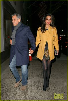 George & Amal Clooney Make It a Date Night