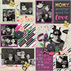 There's nothing quite like the love between a mother and daughter. Celebrate that special bond with the newest collection from Wendy and Blagovesta, Dear Mom. Purples, pinks, golds, navy blues, and aquas form a delightful color palette, along with a variety of elements such as hearts, flowers, and themed word art. Whether you want to honor your own mother or daughter by letting her know just how much she means to you, or you want to recognize another special lady who has had a significant…