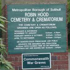 Improvement works at Robin Hood Cemetery and Crematorium