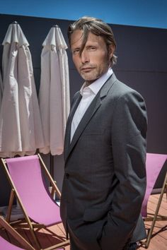 Mads Mikkelsen, Danish, male actor, celeb, powerful face, intense eyes, portrait, photo