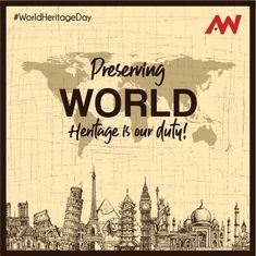 Our Cultural and Natural Heritage are the sources of our references and Identity. Honor It! Make Business, E Day, Competitor Analysis, Core Values, Creative Advertising, Understanding Yourself, Monuments, Economics, Storytelling