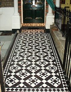 Carron Olde Victorian Floor Tiles Floor Tiles: Carron Tiles, £371/sq. m., wallsandfloors.co.uk