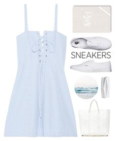 """Sneakers"" by fanfanfann ❤ liked on Polyvore featuring Solid & Striped, Vans, TRUSS and Fringe"