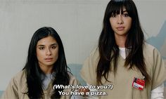 Maritza and Flaca get it #OITNB