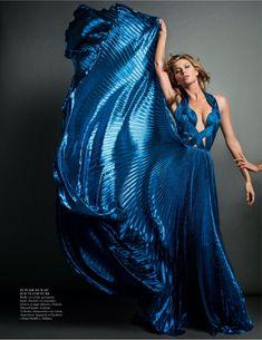 Gisele Bundchen by Inez & Vinoodh for Vogue Paris