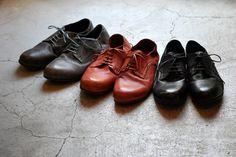 Roberu 2012 Fall/Winter Piece-Dyed Shoes