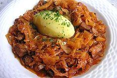 Bigos - polnisches Nationalgericht, ein sehr schönes Rezept aus der Kategorie Gemüse. Bewertungen: 45. Durchschnitt: Ø 4,3.