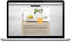 Canvas Website, Design