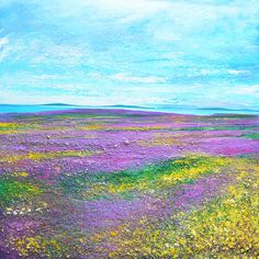 Scilly Heather - Acrylic on canvas
