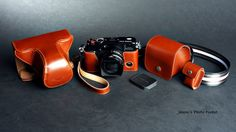 Hand made Leather Full Camera Case