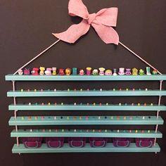 Shopkins Display Shelves Shopkins Storage by CactusHillCottage