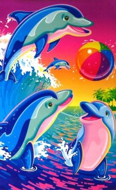 Lisa Frank old school!