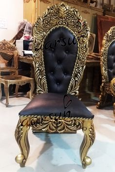 @Aarsun Art with an attitude. Get this luxurious dining chair for your dining area. #luxury #wooden #dining #chair #home #interior