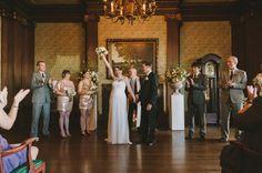 San Francisco club wedding