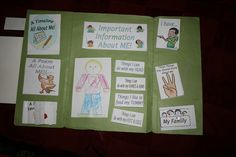 About Me Lapbook