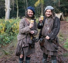 Angus and Rupert! (01/31/2014) From Outlander by Diana Gabaldon