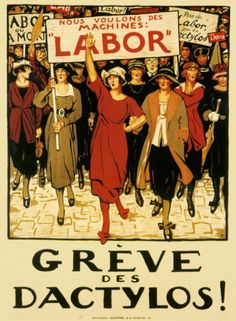 Posters of civil rights for women