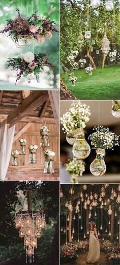 outdoor wedding hanging decoration ideas decor diy wedding decorations Breathtaking Outdoor Wedding Ideas to Love - Page 2 of 2 - Oh Best Day Ever Wedding Events, Wedding Ceremony, Our Wedding, Dream Wedding, Wedding Beauty, Destination Wedding, Light Wedding, Wedding Sparklers, Cake Wedding