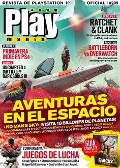 Revista #Playmanía, #marzo 2016. Primavera indie en #PS4, #Uncharted4, #DirtRally, #DarkSoulsIII, No Man's Sky, Mass Effect Andromeda, Elite Dangerous, ADR1FT...
