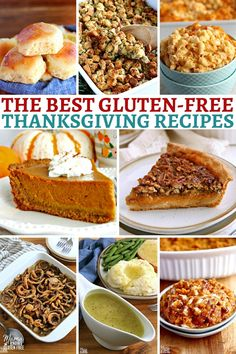 The Best Gluten-Free Thanksgiving Recipes {Dairy-Free Options}