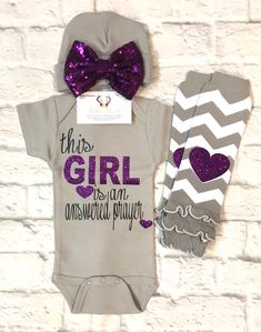 A personal favorite from my Etsy shop https://www.etsy.com/listing/589113983/baby-girl-bodysuit-this-girl-is-an