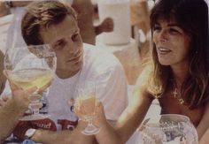 Stefano Casiraghi.    They were so much in love.  She would never get over her loss when he was killed.